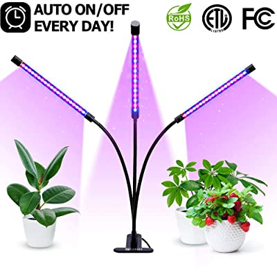 30W Plant Grow Light with Auto Turn On Function...