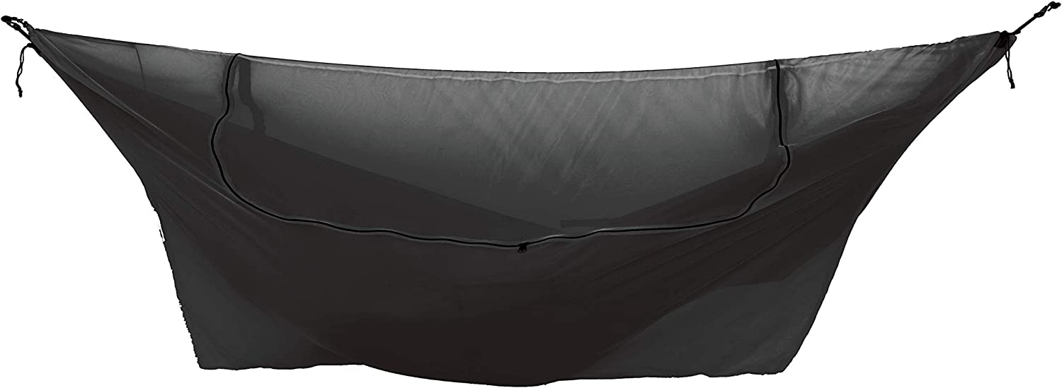 Ticket to the Moon 360° Convertible Mosquito Net for Hammocks - Fair Trade & Handmade All-Round Protection from Bugs and Insects - Only 485g - Double Circular Zipper Opens Ceiling for Extra Comfort