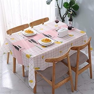 LMWB Bordsduk, duk, PVC bordsduk bordsduk vattentät och oljebeständig engångsbord-soffbordsmatta C_137 x 152 cm