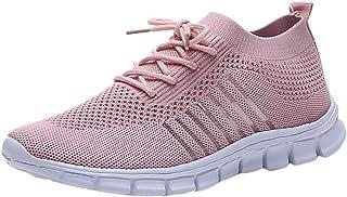 Femme Baskets Mode LéGer Respirante Pas Cher Tendance Soldes Sneakers Basses Outdoor Sport Chaussures Jogging Fitness
