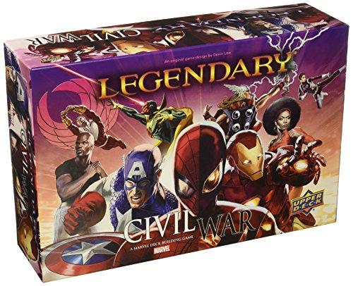 ADC Blackfire Entertainment UD86036 - Legendary: A Marvel Deck Building Game - Civil War Erweiterung - Englisch