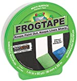 FROGTAPE CF 120 Painter's Tape, Multi-Surface with PAINTBLOCK, 36mm x 55m, Green, 1 Roll (202944)