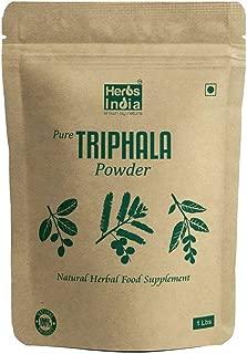 Triphala Powder 16 Ounces(1 Pound)- Triphala Churna - all Natural - USDA Organic - HerbsIndia