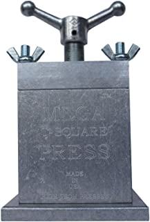 Hydraulic Press Built From Aircraft Aluminum - Made in USA (THE MEGA T SQUARE PRESS)