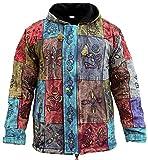 Chaqueta para hombre de los símbolos tradicionales de diseño de algodón pesado forro polar Super caliente