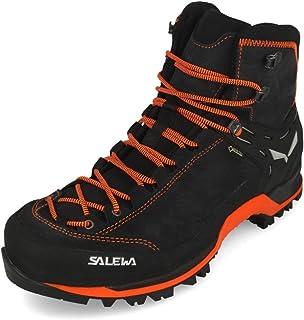 Salewa أحذية المشي لمسافات طويلة طويلة طويلة للرجال ، أسفل/فلوو برتقالي