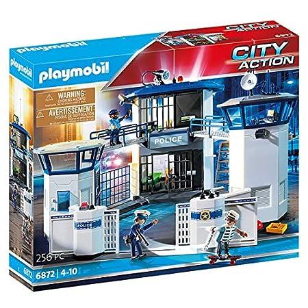 Playmobil City Action Polizeistation mit Gefängnis