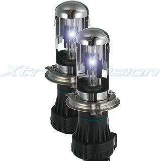 XtremeVision HID Xenon Replacement Bulbs - Bi-Xenon H4 / 9003 5000K - Bright White (1 Pair) - 2 Year Warranty
