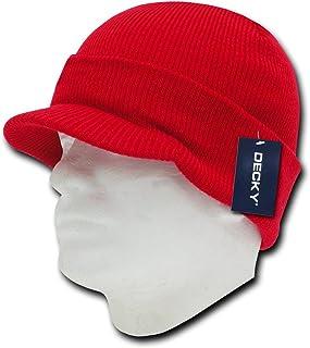 DECKY Kid's Plain HybriCap, Red, One Size