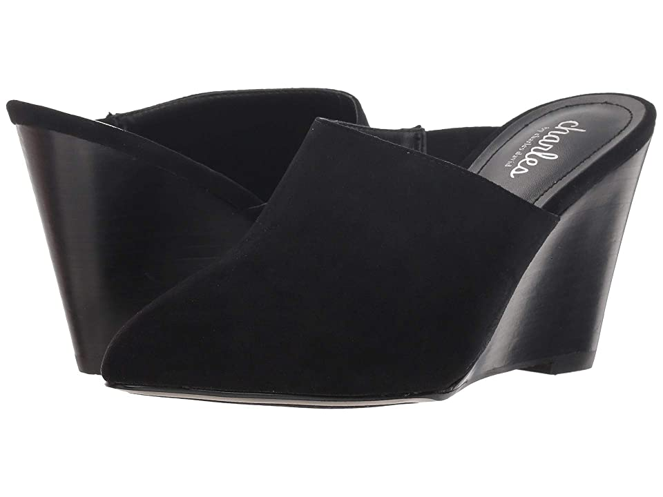Charles by Charles David Ezequiel Slip-On Wedge Mule (Black) Women