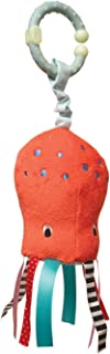 Manhattan Toy Under the Sea Octopus Rattle and Mirror Travel Toy