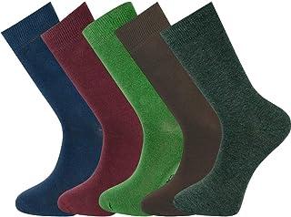 hombres llanura tobillo calcetines caja de regalo combinación 05 tamaño 40-45