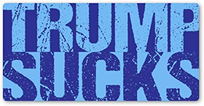 Crafted-Brand Trump Sucks Sticker – Easily Removable Vinyl Decal with A Clever Anti-Trump Twist (2.5 X 5 Inch)
