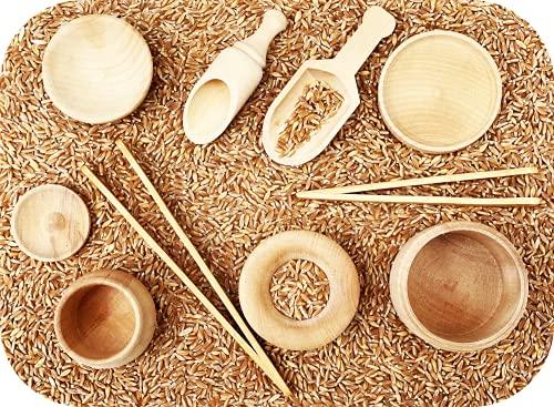 JANOK Sensory Bin Tools, Montessori Toys for Toddlers, Sensory Toys,