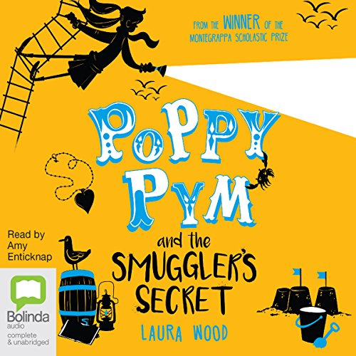 Poppy Pym and the Smuggler's Secret audiobook cover art