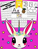 Apprenons à tracer - Lettres, chiffres, formes: Cahier d'activités pour enfants pour enfants âgés de 3 à 5 ans / (Licorne)