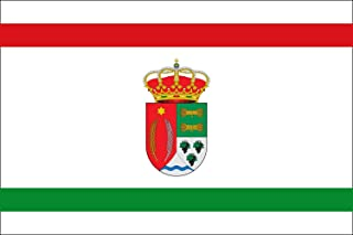 magFlags Large Flag Santa Cecilia, Burgos, Spain | Landscape Flag | 1.35m² | 14.5sqft | 90x150cm | 3x5ft - 100% Made in Germany - Long Lasting Outdoor Flag