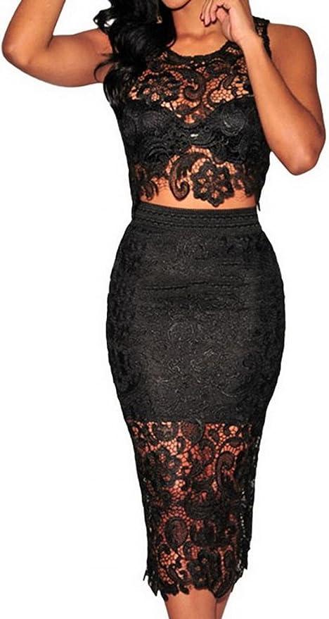 EOZY Ropa Camisa Falda Conjunto Para Mujer De Noche ...