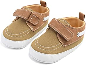 ✪COOLGIRLS✪~Shoes Toddler Boys Girls Canvas Sneakers Anti-Slip Unisex Baby Tennis Shoe Lightweight Little Kids First Walker Shoes 0-12 Months
