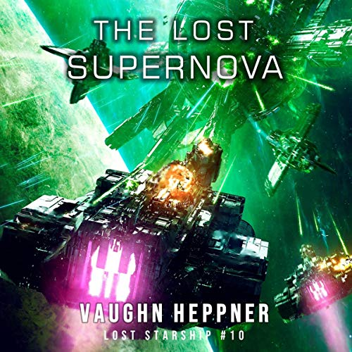 『The Lost Supernova』のカバーアート