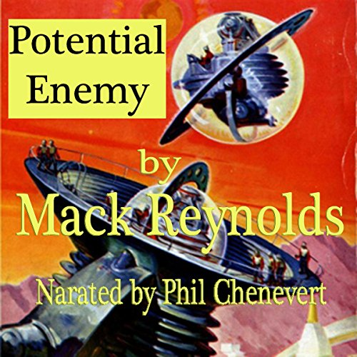 Potential Enemy audiobook cover art