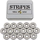 Yellow Jacket Premium Inline Skate Bearings, Roller Skate Bearings,...