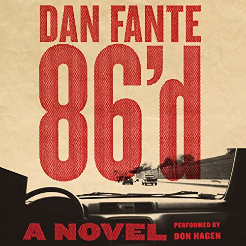 86'd audiobook cover art