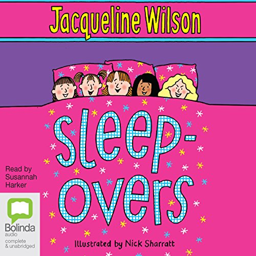 Sleep-Overs audiobook cover art