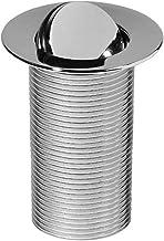 Wirquin 30718709 afvoergarnituur wastafel design klapdeksel draaibaar messing chroom 100 mm