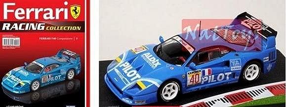 EDICOLA Ferrari GT Racing Collection F40 Modellino Ixo Die Cast 1:43 + fas. 9 Model Compatible con