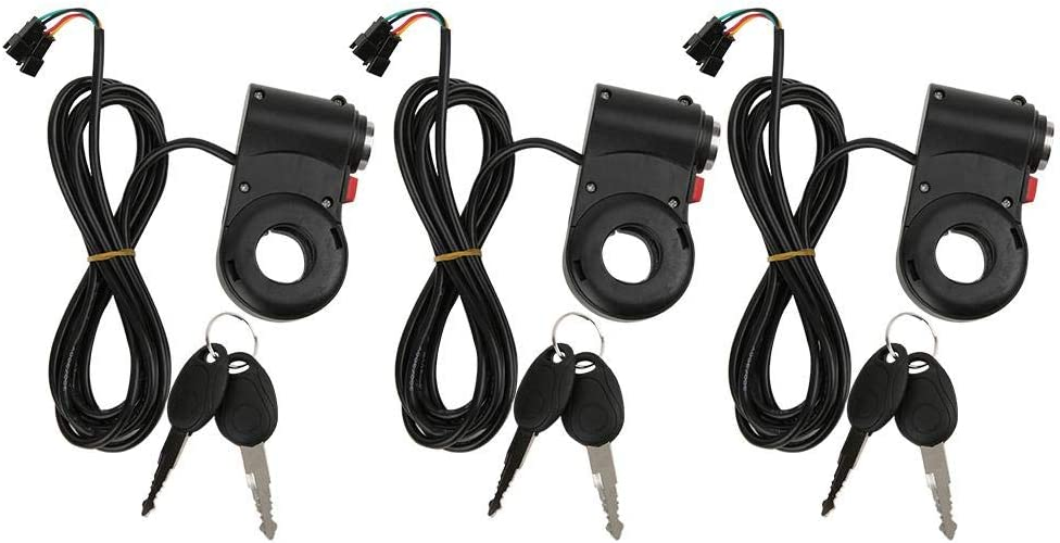 Keenso 3Pcs Fees free!! 2021new shipping free Electric Bike Switch Revers Handlebar