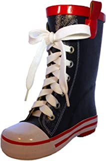 BengC RC116 Sneaker Style Toddler/Little Kid/Big Kid Rubber Rain Boots
