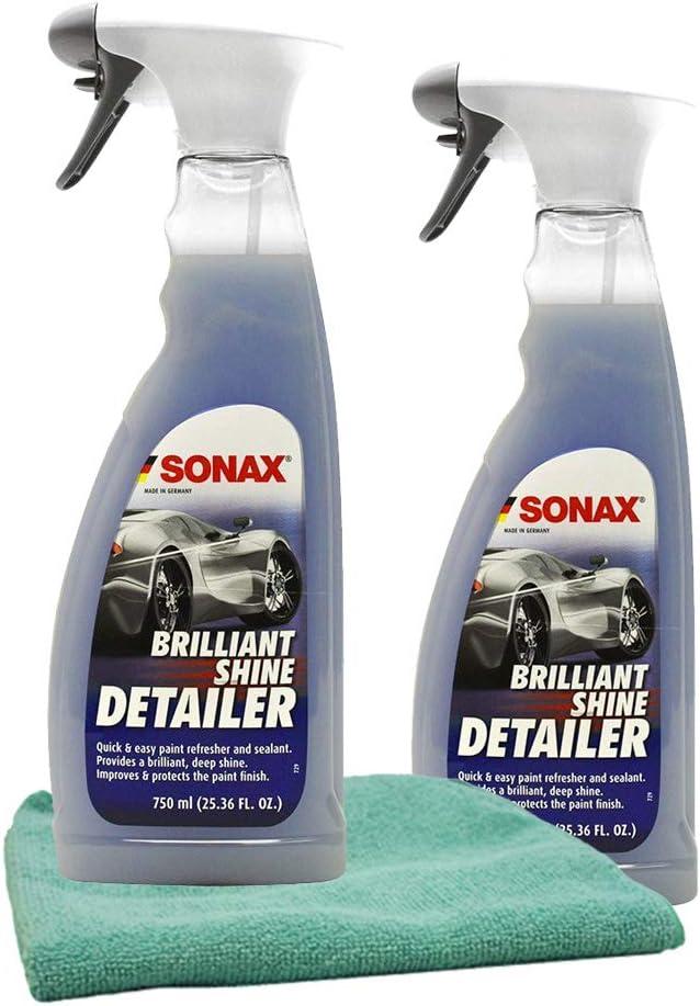 Cheap super special excellence price Sonax Brillant Shine Spray Detailer 25 with Bundle Microfib oz