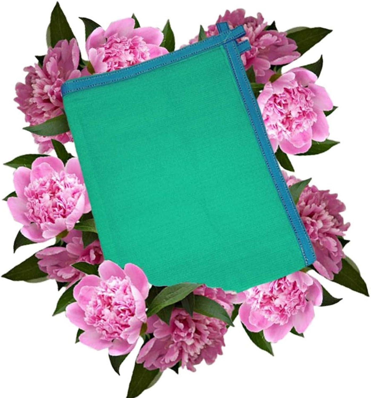 6 Pin Sun Shade Cloth Green Sunshade Sunscreen Net Edge for Outdoor Camping