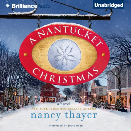 A Nantucket Christmas audiobook cover art