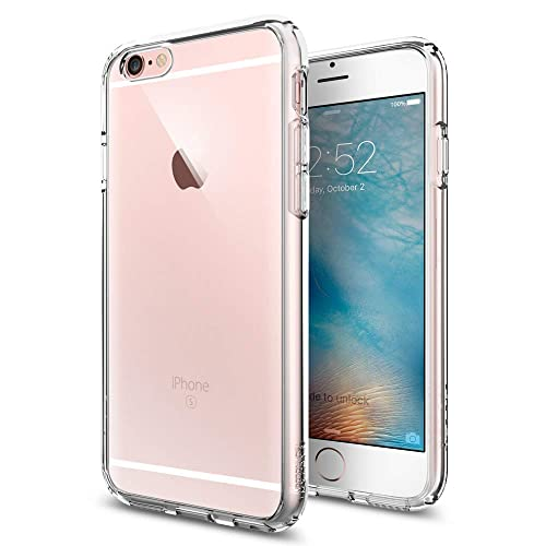 64c0f037abbdd8 Spigen SGP11598 Ultra Hybrid iPhone 6S Case with Air Cushion Technology and  Hybrid Drop Protection for