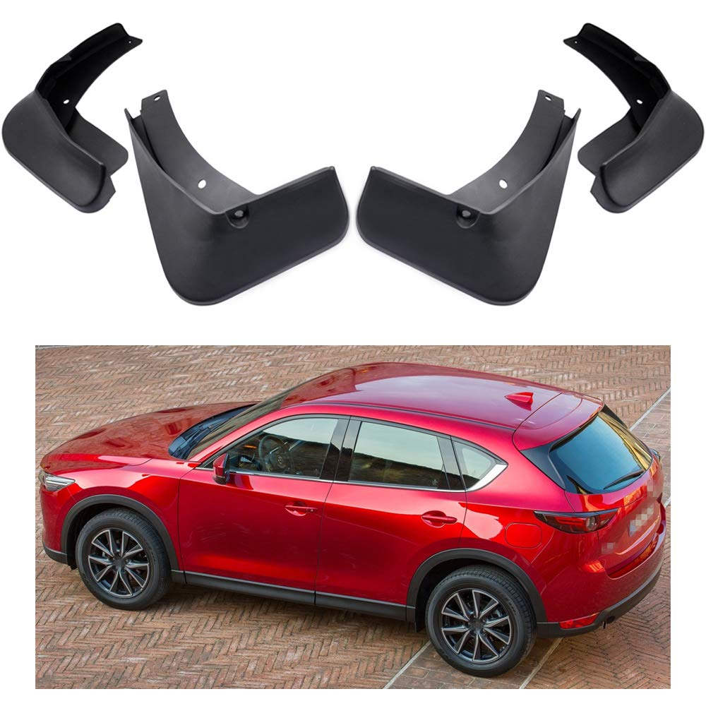 MOERTIFEI Car Mudguard Fender Mud Flaps Splash Guard Kit fit for Audi Q5 2017 2018 2019 2017-2019 Q5