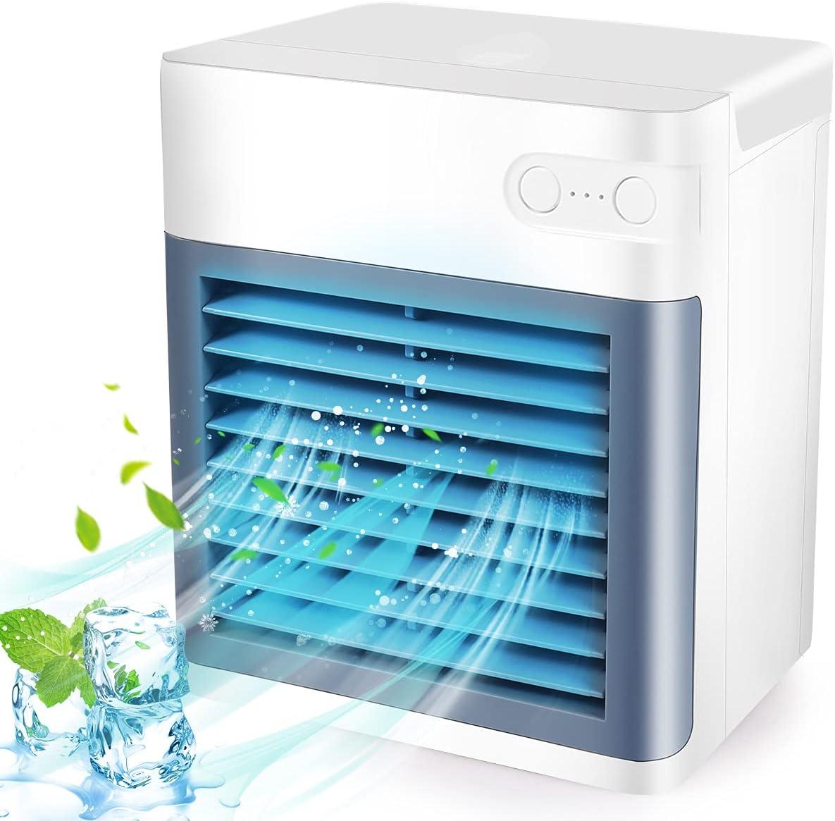 Max 49% OFF Portable Air Conditioner Personal Evaporative w Super Special SALE held Mini Cooler