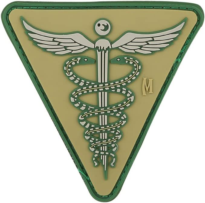 Maxpedition New York Mall SEAL limited product Gear Caduceus Patch