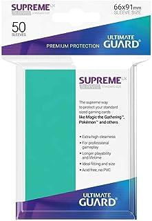 Ultimate Guard UGD010795 Supreme UX Card Sleeves, Standard, Turquoise