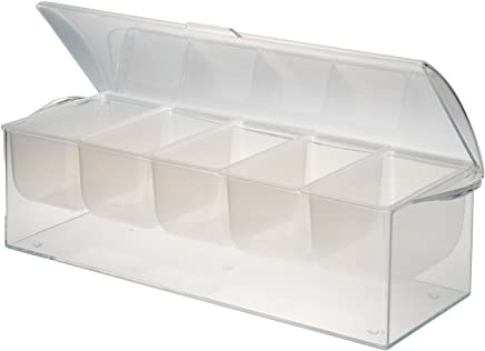 Jumbl Chilled Condiment Server with 5 Removable Containers.