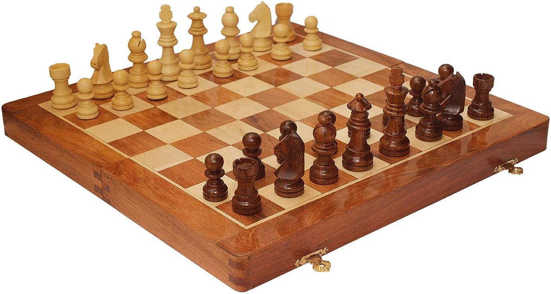 Best 14 Chess Set with Chessmen Storage Crafkart Travel