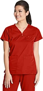 Grey's Anatomy Womens 41340 3 Pocket V-Neck Tonal Stitch Scrub Top