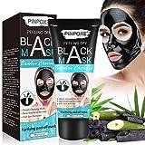 Bambú Máscara Negra, Peel off Mascarilla, Black Mask, Mascarillas exfoliantes y limpiadoras,...