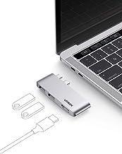 UGREEN HUB USB C, Adaptador USB C a 2 USB 3.1 10Gbps, 4K 60Hz HDMI, Compatible con MacBook Pro M1 2020 2019 2018 2017 Macb...