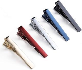 کلیپ های کراوات QIMOSHI 6 عددی مردانه برای کلیپ های کراوات نوار کراوات