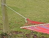 XXL Befestigung für Hängematte an Bäumen | Seilbefestigungsset 6 Meter | Belastbarkeit max. 160 KG | Komplettset - 2