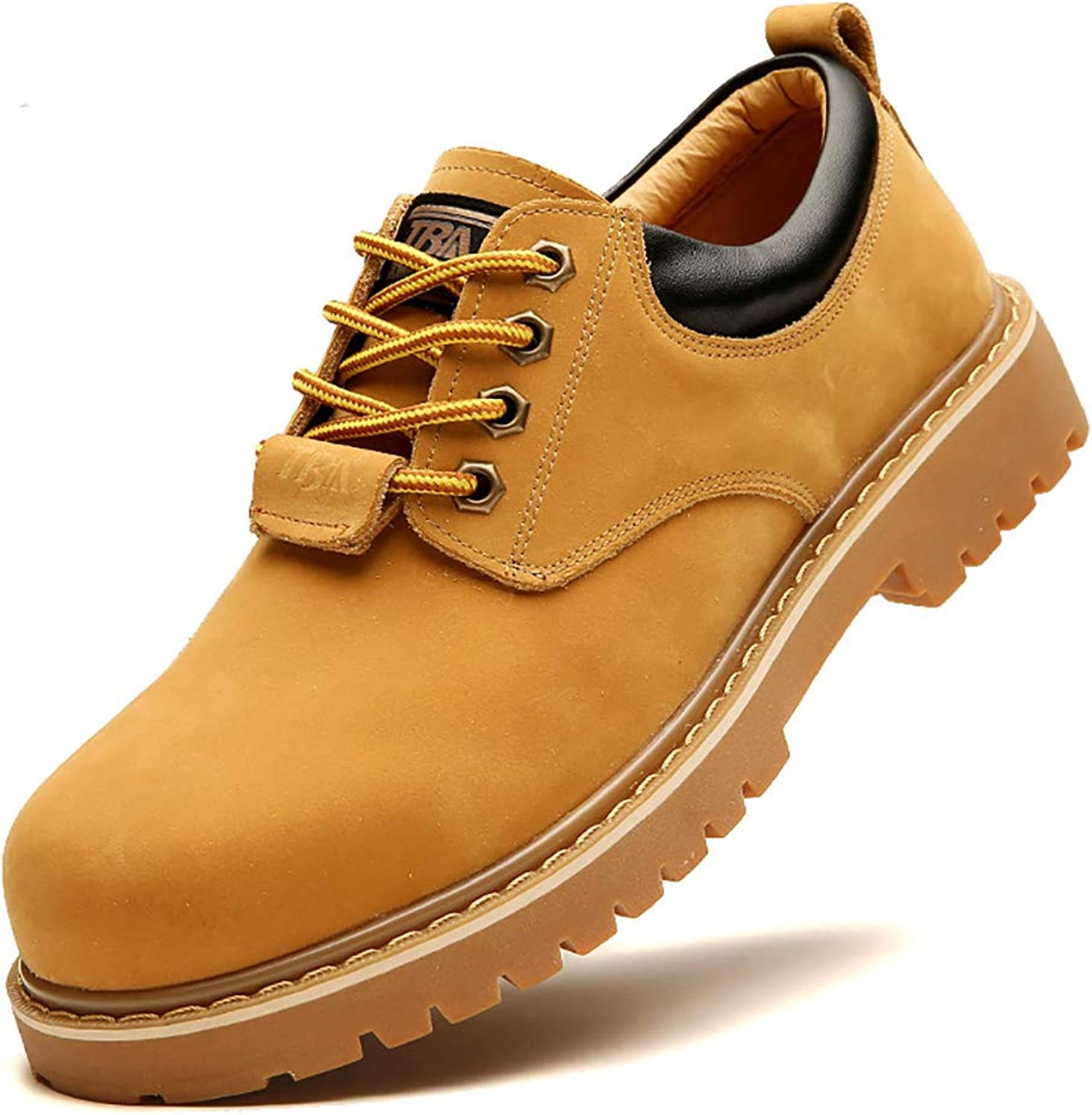 Dress shoes Men's Work shoes Business shoes Wheat Yellow Size 38-44