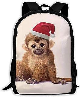 Lily-Shop Saludos Desde Baby Monkey Mochila para Adultos Mochila de Viaje Ligera Mochila Unisex con impresión Completa Mochila para Adultos 43cm