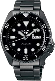 SRPD65 5 Sports 24-Jewel Automatic Watch - Black/Stainless